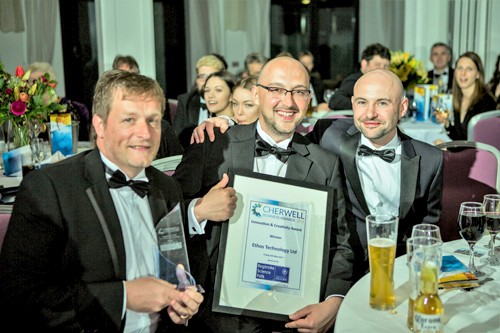 Big win for Ethos at the Cherwell Business Awards 2017
